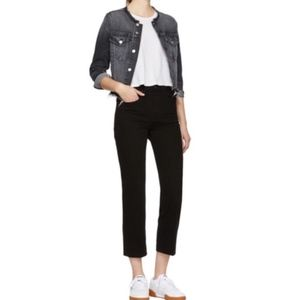 NWT rag & bone HighRise Ankle Straight Jeans Twill